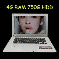 14 Inch Windows7 8 10 Laptop Computer PC In Tel Celeron J1900 2 0GHZ Quad Core