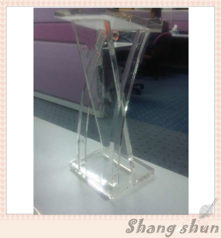 Free Shipping High Quality Unique Clear Acrylic Podium Pulpit Lectern Acrylic Pulpit Podium Furniture free shipping high quality price reasonable cleanacrylic podium pulpit lectern podium