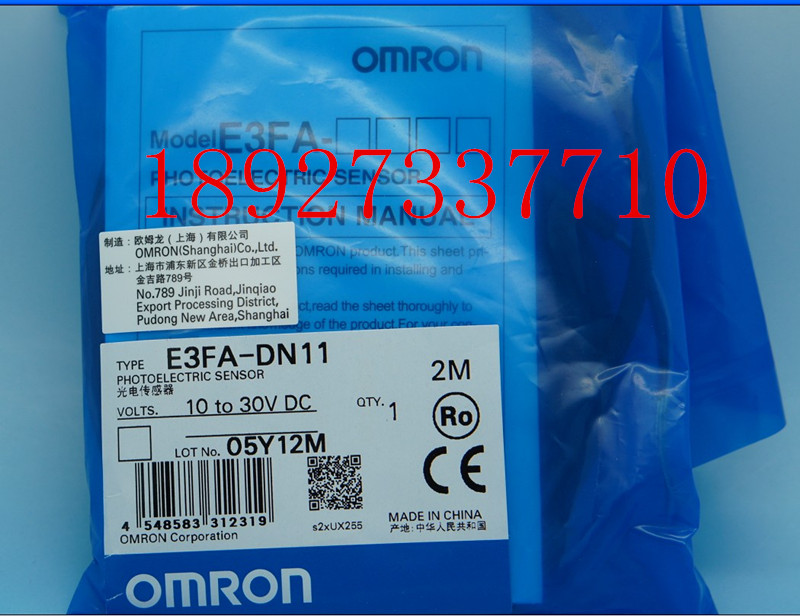 [ZOB] Guarantee new original Omron omron photoelectric switch E3FA-DN11 2M factory outlets  --5PCS/LOT 100% new and original fotek photoelectric switch a3g 4mx mr 1 free power photo sensor