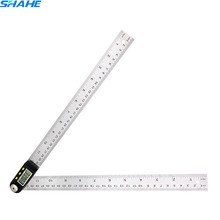 360 degree 300mm ruler protractor digital goniometer angle inclinometer digital angle finder meter digital ruler goniometro
