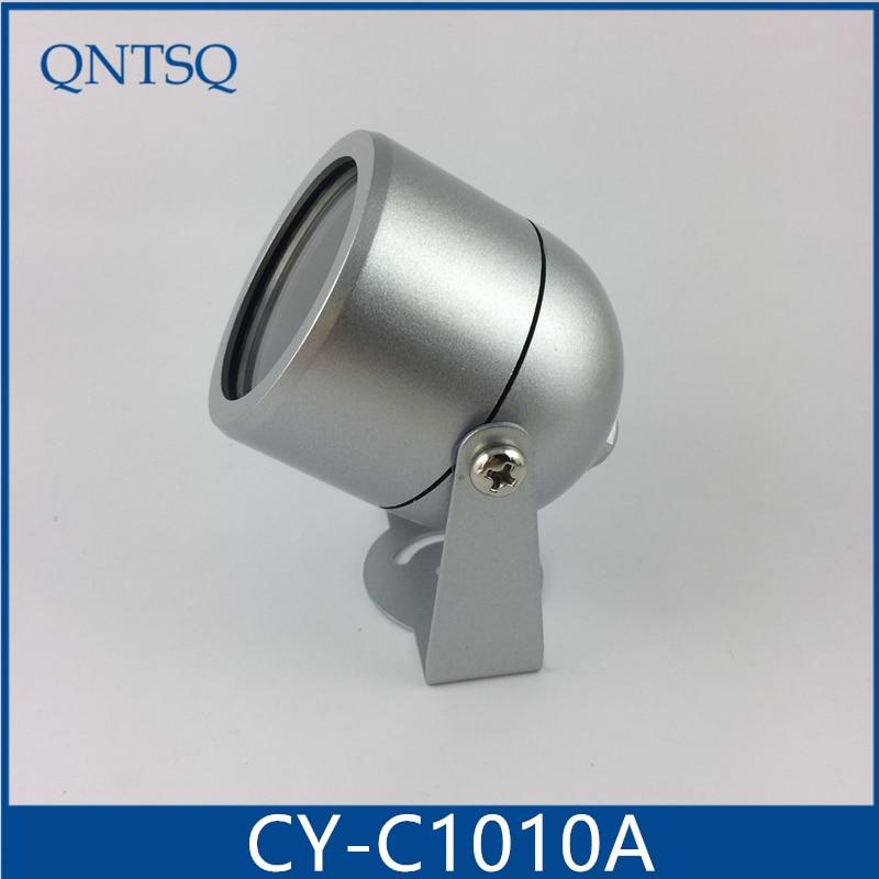 CCTV DIY cámara resistente al agua cámara de Metal cubierta de la carcasa (pequeño) CY-C1010A con separado tuerca y a prueba de agua anillo