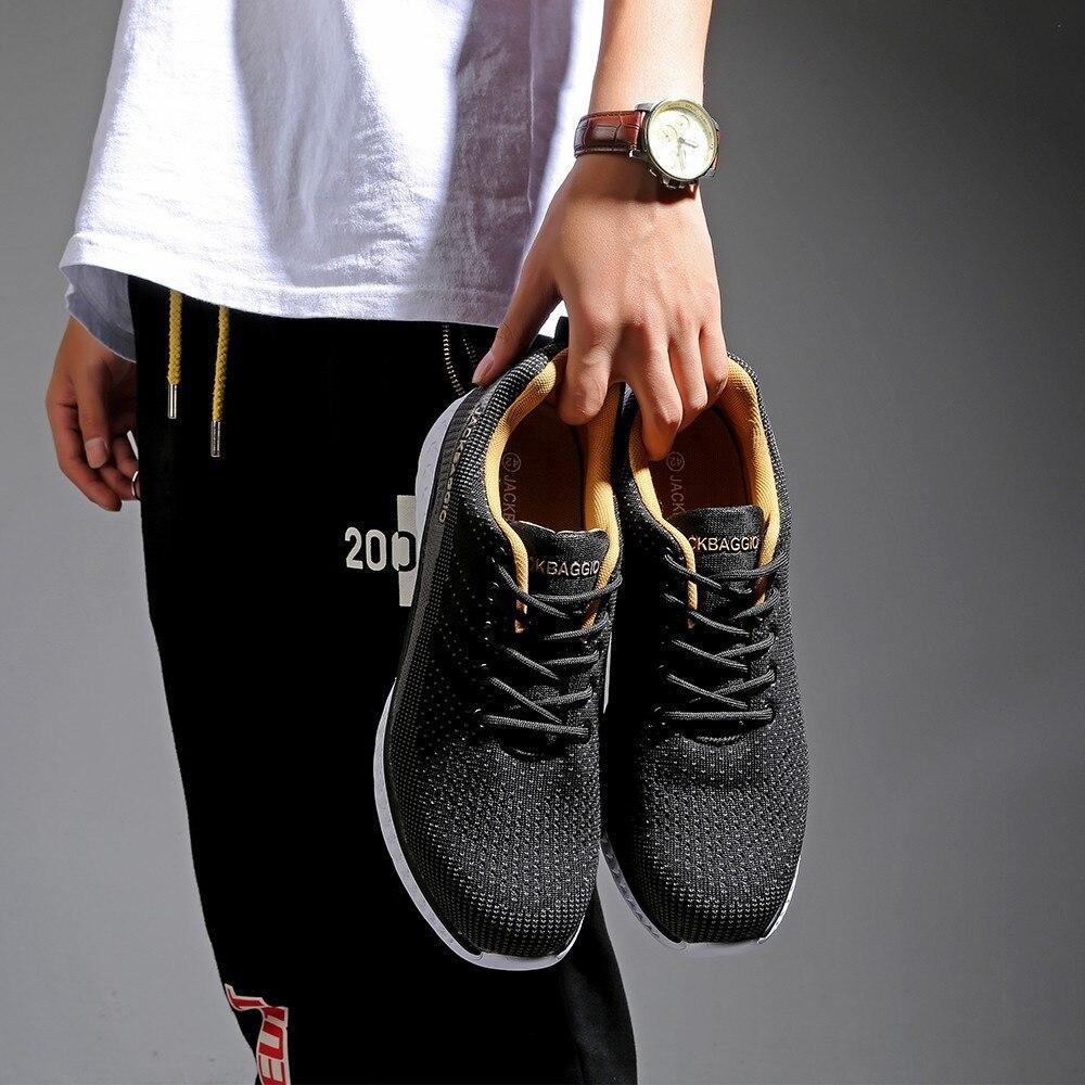 Hot marque européenne Standard en acier orteil travail chaussures de sécurité hommes, baskets chaudes légères, anti-dérapant anti-dérapant maille chaussures décontractées. - 3
