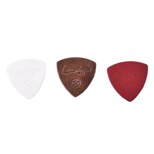 Sheep Leather Guitar Picks Set