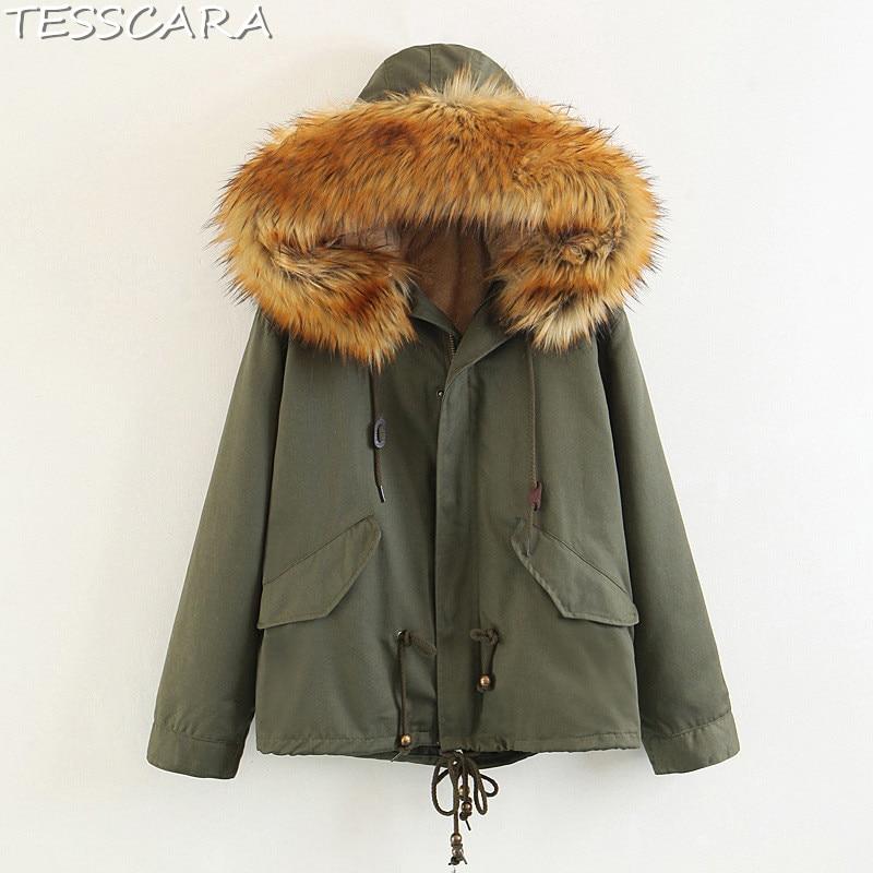 Plus Black khaki Manteaux Coton Veste Manteau Chaud Parka vent Femmes La Taille Casual Femelle Tesscara De Survêtement Ukraine Et Hiver green Coupe Base PiXuOTkZ