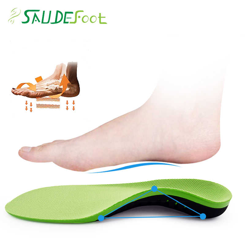 PU Material Orthotic Insoles For Flat