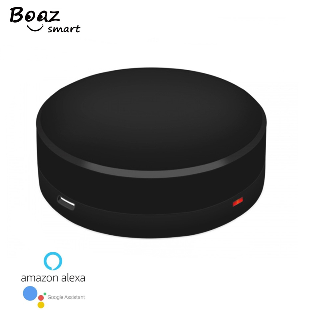 Boazsmart IR Bridge Google Home Alexa Echo Control For Infrared Air-condition Fan TV Universal Remote Control By Mobile Phone
