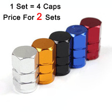 2sets/lot 2016 new arrival car styling wheel tyre tire valve stems caps covers