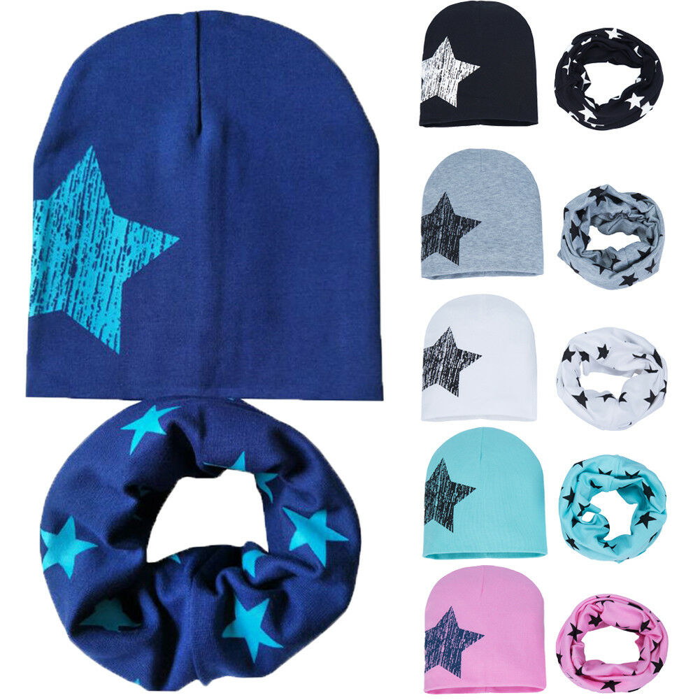 Lovely Cartoon Printed Baby Hats Cotton Beanie Hat For Boys Girls 0-3 Years Cap