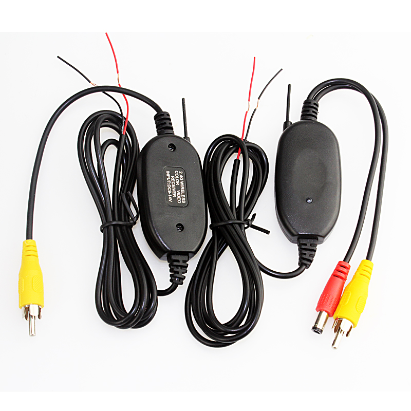 Sinairyu 3 in 1 Wireless Car Parking Assistance Wireless + 4.3 Folder Car Monitor +Night Vision HD Waterproof Rear View Camer
