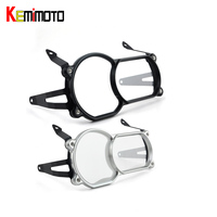 KEMiMOTO For BMW R1200GS LC 2013 2016 Motorcycle Headlight Guard Protector CNC PC lense R1200GS Adventure LC 2014 2016