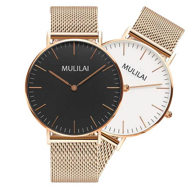 2018 Fashion Clock Men Rose Gold Watch DW Watch Style Quartz Watch Sport Watches