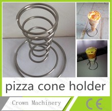 Pizza machine; pizza cone tray for pizza cone stand