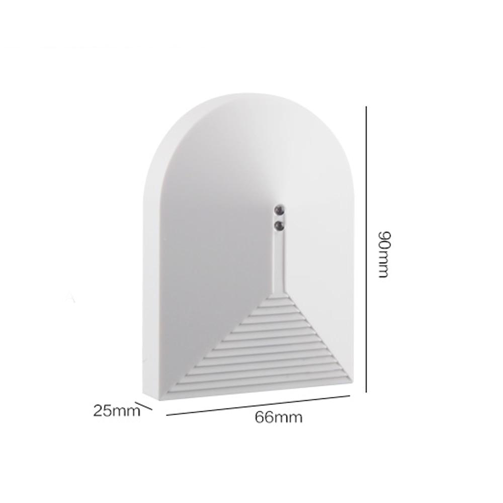DIY Home alarm system Wired Glass Break Detector Sensor for Home Burglar Alarm Adjustable Sensitivity (NC type)