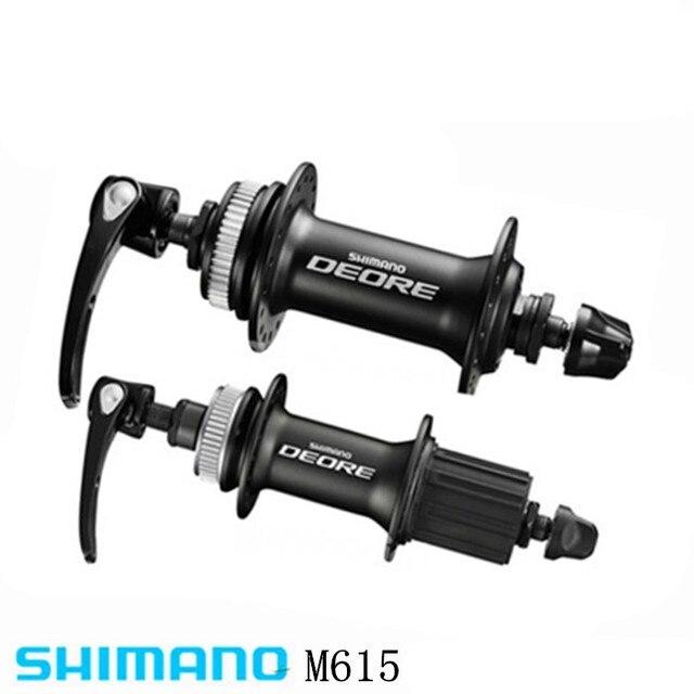 Shimano Deore M615 32h Center Lock Bicycle Hub Front Rear Mtb