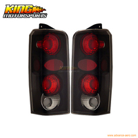 For 97 01 Jeep Cherokee Tail Lights Black 1998 1999 2000 USA Domestic Free Shipping