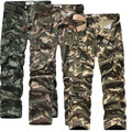 Mens Joggers Brand 2017 Trousers Male Cotton Big Yards Camouflage Military Overalls SweatpantsPants Joggers Pantalones Casual UZ