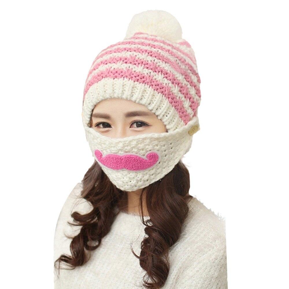 Hermoso!! Lindo gorro invierno Barba Gorros Sombrero de Invierno ...