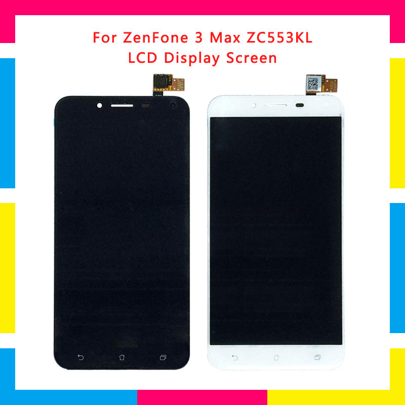 LCD <font><b>Display</b></font> Screen With Touch Screen Digitizer Assembly For ASUS Zenfone 3 Max <font><b>ZC553KL</b></font> Replacement image