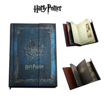 New Harry Potter Vintage Notebook Hardcover Diary Agenda Planner Gift 2017-2018-2019 calendar(China (Mainland))
