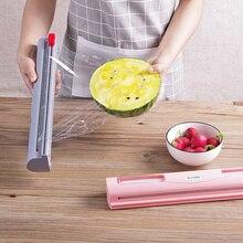 Хорошая полезная фруктовая еда свежая сохранность Магия ABS пластик пищевая пленка Диспенсер консервантная пленка резак кухонный инструмент Аксессуары