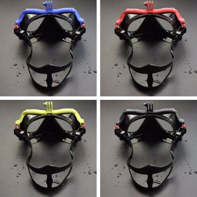 JOSHOCK Professional Skuba Diving Mask Goggles  for GoPro Xiaomi SJCAM Sports Camera Swimming Earplugs As Gift