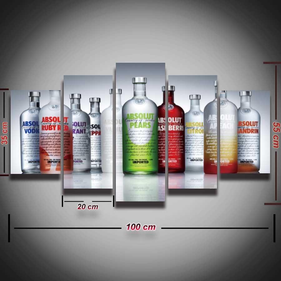 hd gedruckt moderne weinflasche malerei wandbild f252r bar