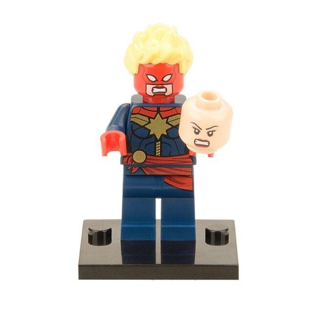 Os Vingadores Hulk PVC Deadpool Homem De Ferro Action Figure Modelo Toy Presente Coleção de super-heróis Capitão América IronMan Thor X0109-230