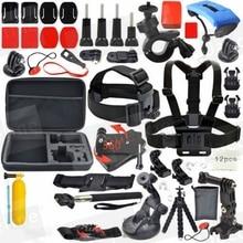 JACQUELINE for Accessories Set Kit Monopod for Gopro hero HD 5 4/3/2/1/SJCAM SJ4000 SJ5000 SJ6000/EKEN H9R H9 H9SE