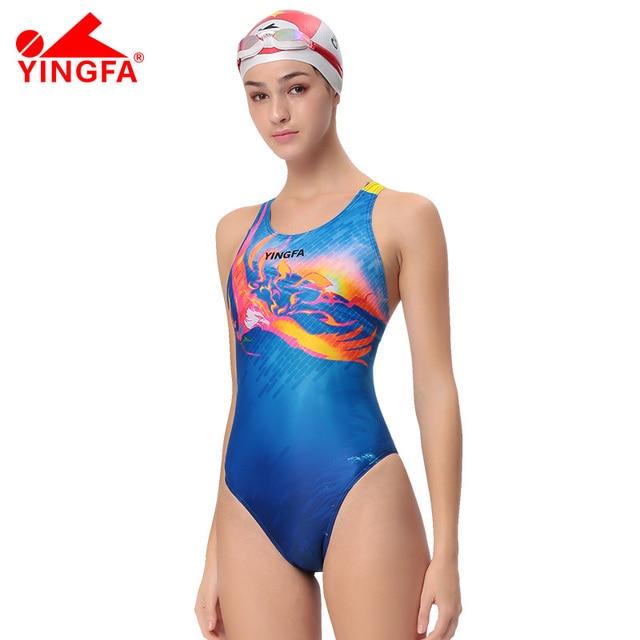 2aebbc5ca1aa € 26.95 |Aliexpress.com: Comprar Yingfa 2108 Mujeres del traje de Baño  Profesional de trajes de Baño Sexy Lady Traje de Baño Deportes Racing ...