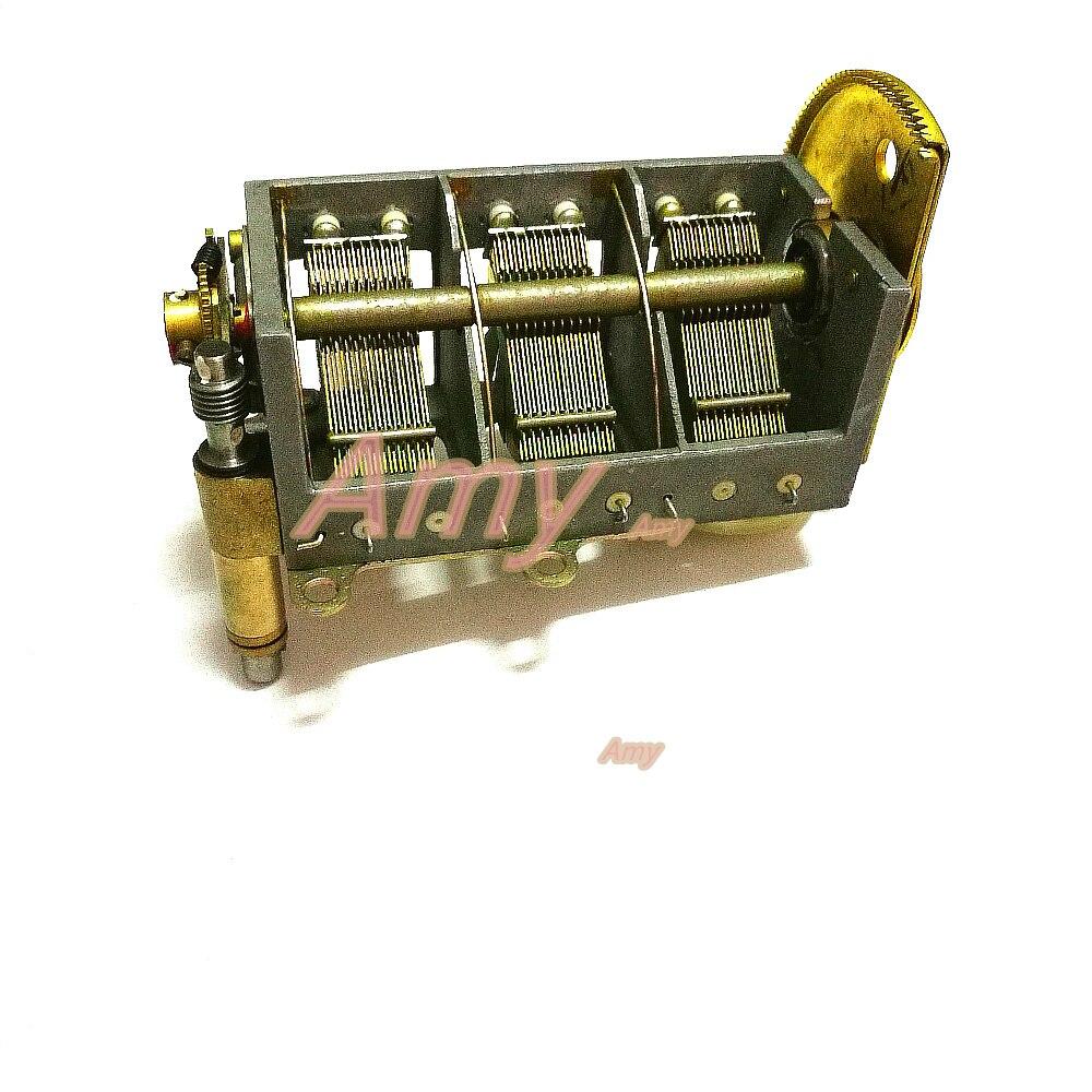 recepcao de radio pequena nova de bayi engrenagem de ajuste variavel da correia do capacitor 21pf