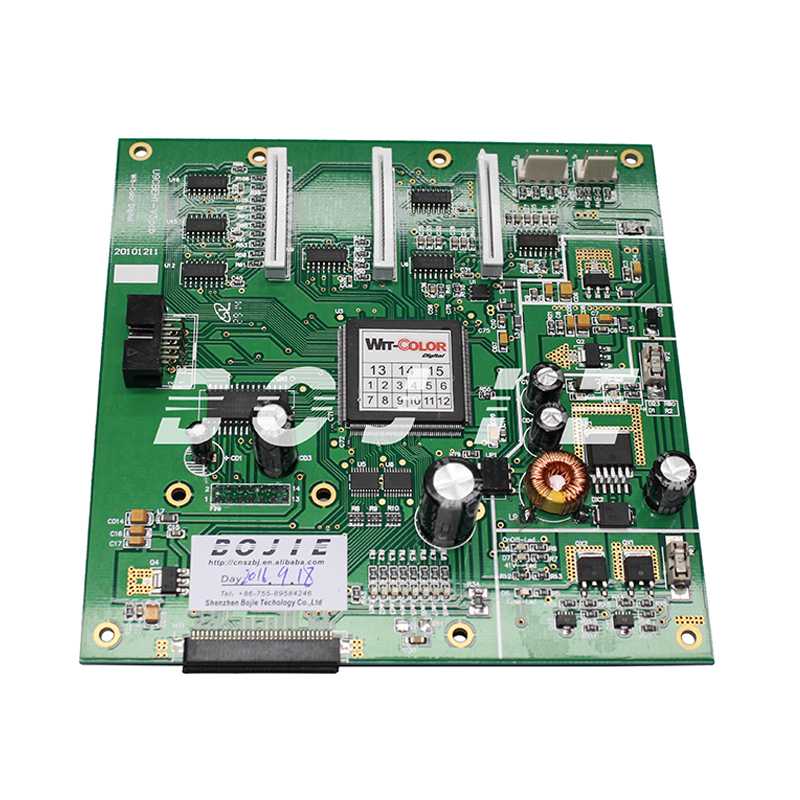 wit color 9000 carriage board / printhead board for epson dx5 head