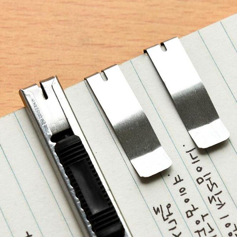 Купить канцелярские принадлежности нож лезвие портативный мини автоблокировка