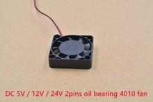 3d Принтер часть вентилятора 4010 2 контакта 40 мм 40x40x10 мм 4 см видеокарта DC 5 В/12 В/24 В 4010 2 P 1 шт