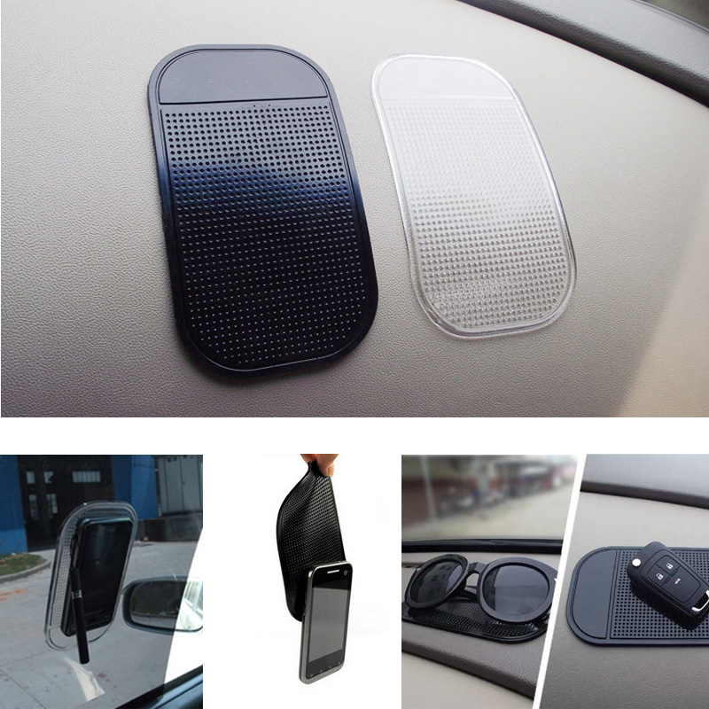 1PC Car Dashboard Sticky Pad Silica Gel Magic Sticky Pad Holder Anti Slip Mat For Car Mobile Phone Car Accessories 2 color