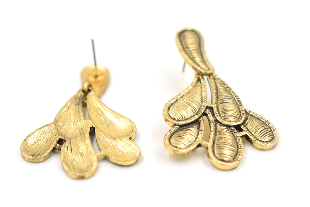 CHOW APINO vintage shape earrings for lady fashion jewelry for daily dress