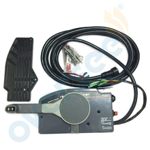 OVERSEE Outboard Remote Control Assy 10Pin Cable For Parsun Yamaha Outboard Controller 703 48205 1A 703