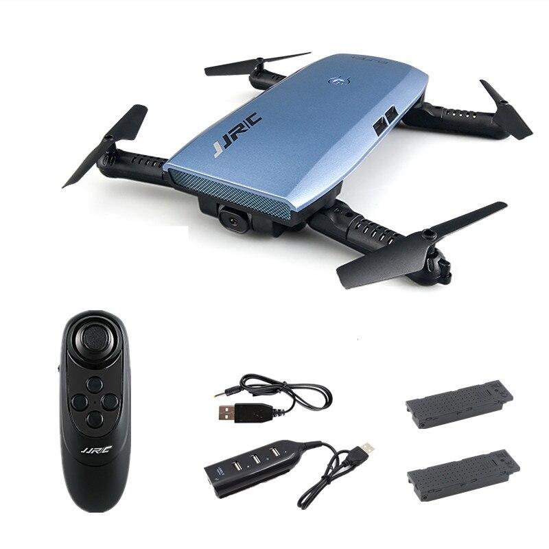 JJRC H47 ELFIE Plus Mini Selfie Drone avec Caméra HD 720 P WIFI FPV Gravité Capteur Maintien D'altitude Pliable Quadcopter VS H49WH