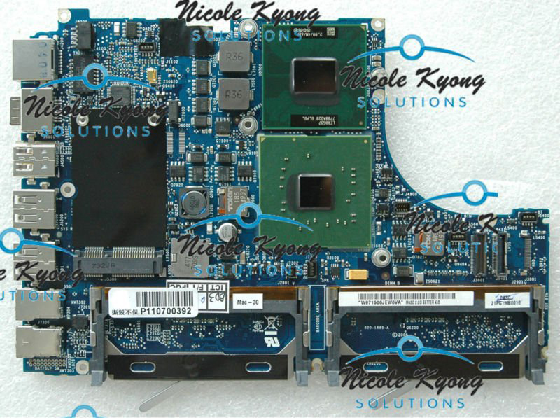 A1181 13.3 MA699LL/A 661-4219 661-4215 820-1889-A T5600 1.83 GHz Logic Board MotherBoard for 945GM MacBook