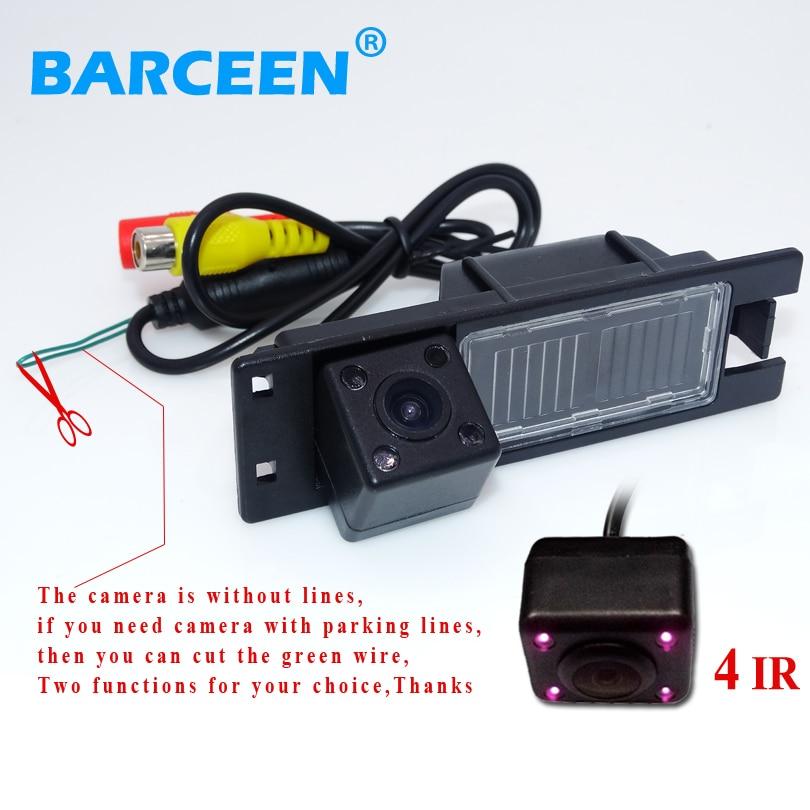 car  rear reversing  camera wire auto use for Opel Astra H /Corsa D/ Meriva A /Vectra C/Zafira B/FIAT bring 4 ir lights|car rear reverse camera|b vectra|astra h reverse camera - title=