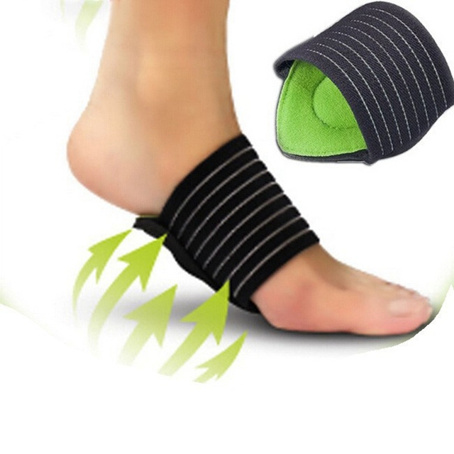 14d56cabb0 Plantar Fasciitis Arch Sleeve pad arch support orthopedic insoles Fallen  heel Pain Relief Shock orthotic massage cushion 1pair