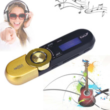 16GB Support LCD MP3 Player Music TF FM Radio Digital Voice Recorder With 3.5mm Earphone USB Cable MP3 Music Players