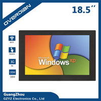 XP System 32G Widescreen LCD Screen Industrial Computer Built In WiFi 16 9 Resistive Touch Screen