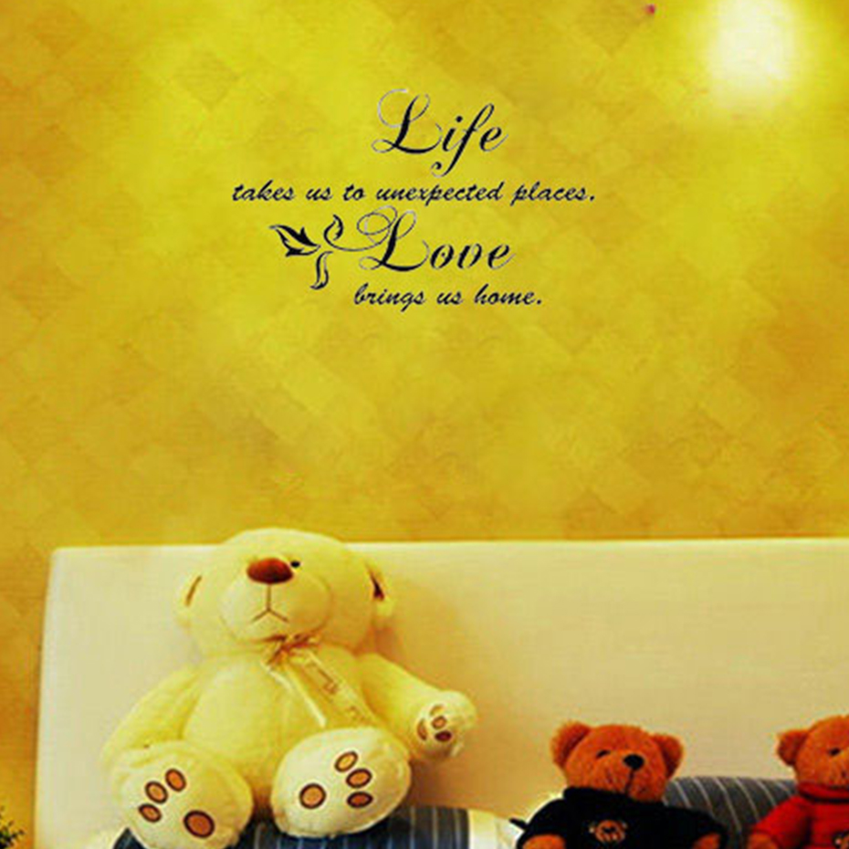 DCTOP Quotation Life Takes Us To Unexpected Places Words Decorative ...