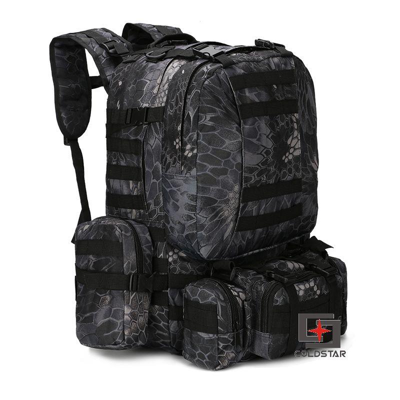 ФОТО Boa Grain Gray Camo Sports Outdoor Military Tactical Backpack Travel Bags High Quality Camping Bag Hiking Trekking Bagpack