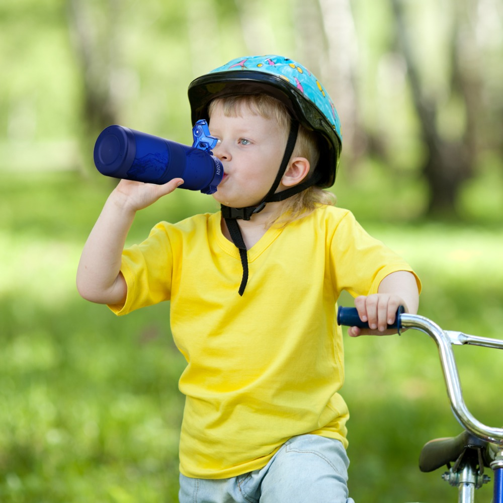 HTB1q9GcOCzqK1RjSZFjq6zlCFXaG ZORRI Lightweight Bottle for Water BPA-free Tritan Flask бутылка для воды 500ml/1000ml CE / EU Drinkware shaker botella de agua