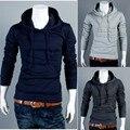 Free Shipping Men's Top Brand New Autumn Winter Hoodies Sweatshirts  Dress Coat Mens Casual Sweatshirt Jackets Outerwear