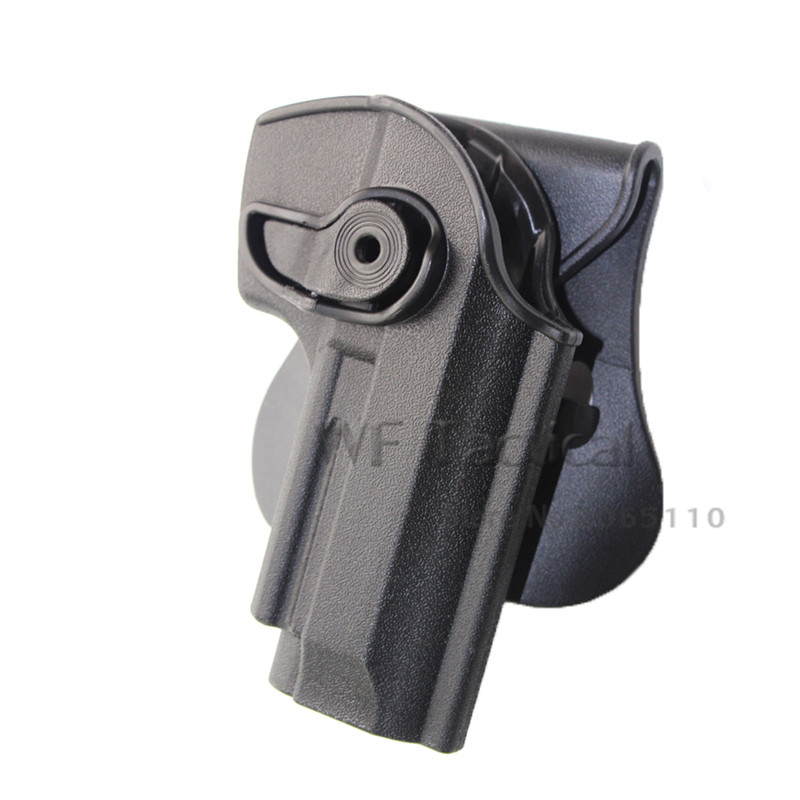 IMI Tactical Gun holster fit for Beretta M9 M92 Airsoft Pistol Gun Holster Case Bag with Waist Paddle Hunting Accessories|Holsters| |  - title=