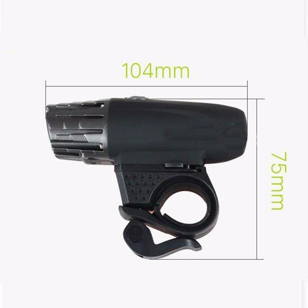 2256 супер яркий 200LM USB Перезаряжаемый светодиодный фонарь для велосипеда с головкой, мигающая велосипедная Защитная лампа, водонепроницаема... - 4