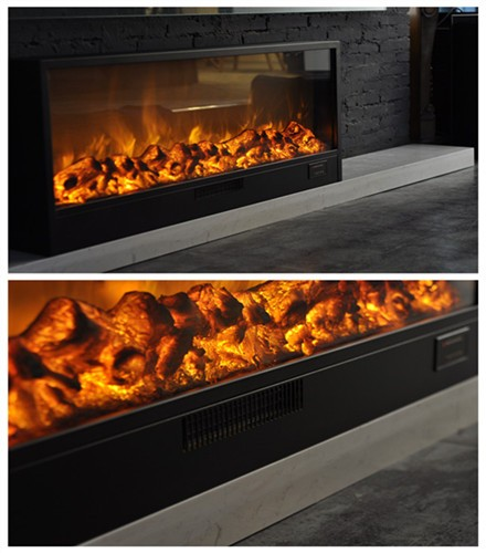 artificial pit an fake campfire flame position for gas fire fireplace logs decorations indoor