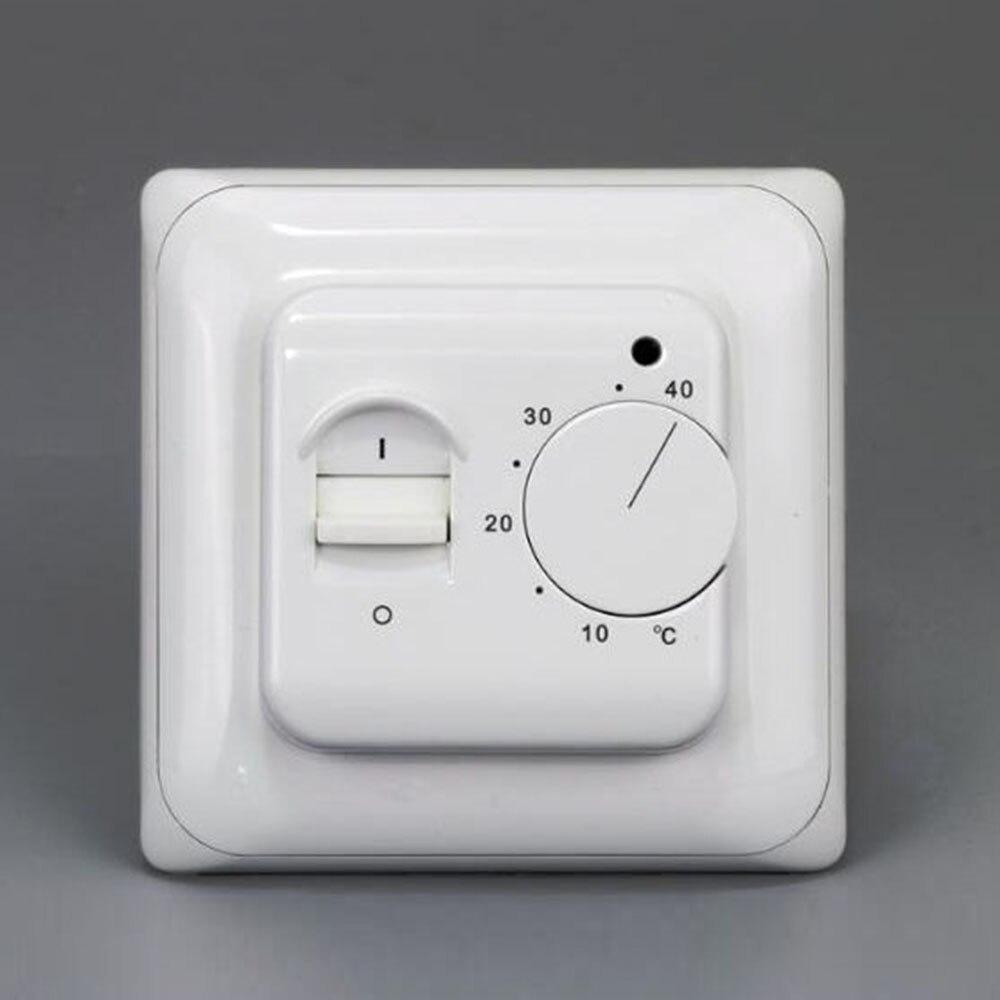 RTC70 (M5.16) 16A su 3 m išorinio jutiklio elektriniu šildymo grindų šildymu mechaniniu kambario termostatu